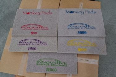 "Rectangular Monkey Pads Set 14"" x 20"""